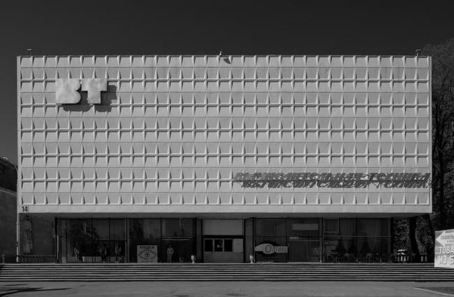 Павильон «Вычислительная техника» на ВДНХ. Фото © Юрий Пальмин