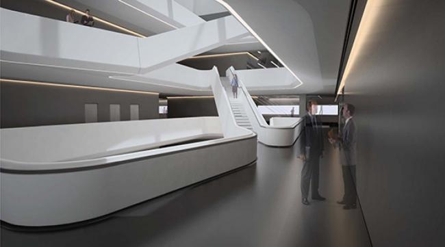 Первое здание Захи Хадид в Москве будет готово в июне