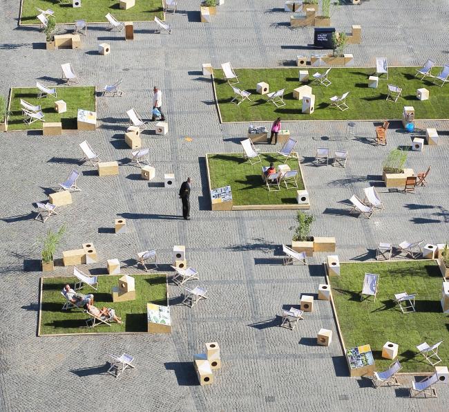 Реконструкция площади Тарг Венглевы © Wojciech Ostrowski