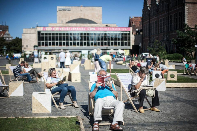 Реконструкция площади Тарг Венглевы © Dominik Werner