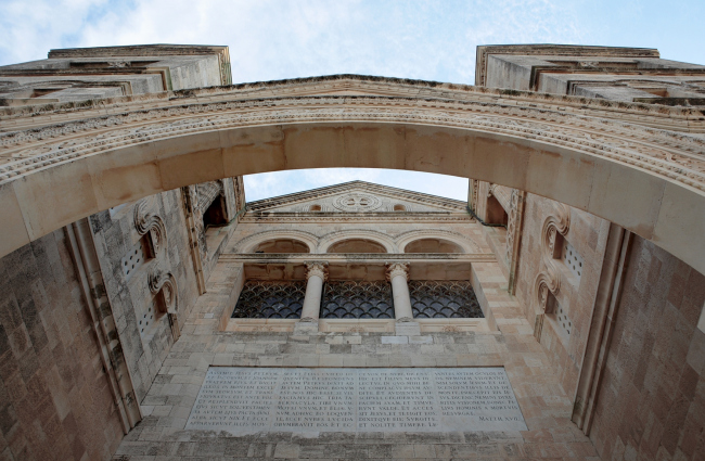 Базилика на Фаворе, деталь. Фотография Л.К. Масиеля Санчеса