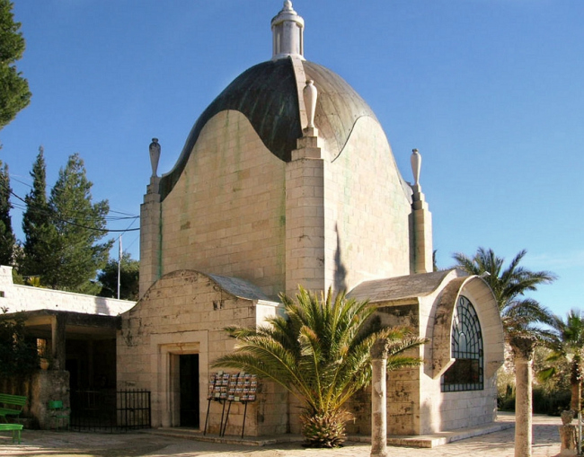 Церковь Dominus flevit. Wikimedia commons