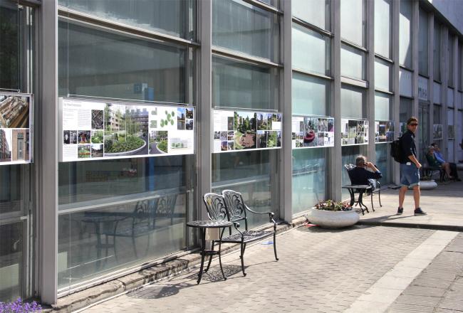 Экспозиция Court Yard (часть проекта GardenФест): подборка примеров современного благоустройства и озеленения в Нидерландах. Фотография Юлии Тарабариной