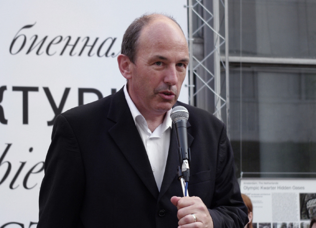 Куратор проекта «Кварталы. Российский опыт» Барт Голдхоорн