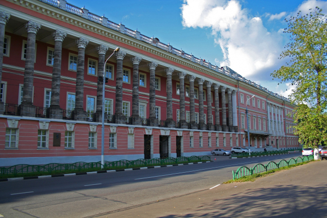 Екатерининский дворец, фрагмент юго-восточного фасада. Источник: wikimedia.org