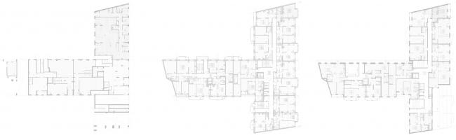 Проект жилого дома с подземными автостоянками и встроенными помещениями на улице Чапаева