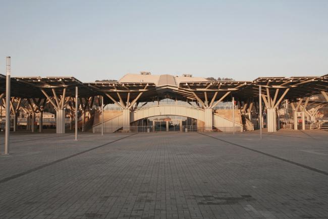 Вокзал «Олимпийский парк» © Алексей Народицкий