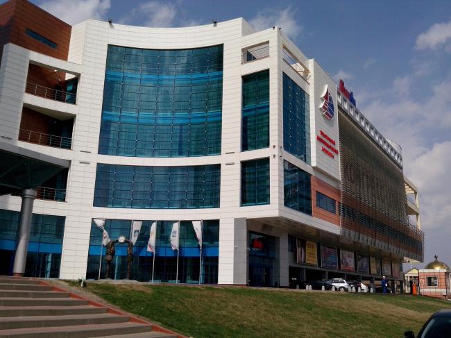 Многофункциональный комплекс «ГРИНН». Фотография предоставлена ГК «Алютех»