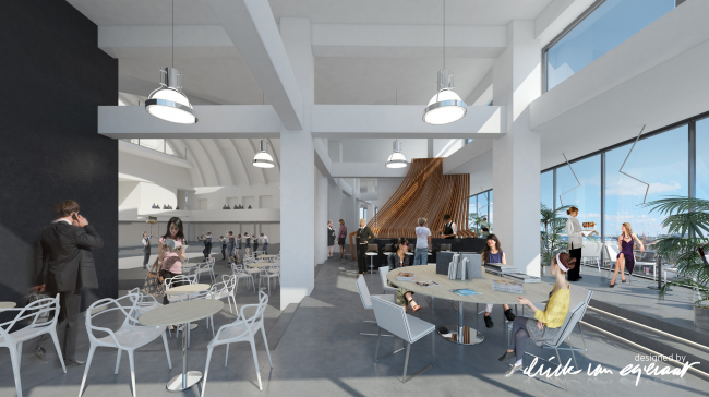 Центр современного искусства «Ударник» © Designed by Erick van Egeraat
