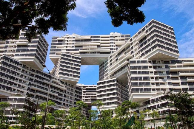 Жилой массив Interlace. Фото с сайта designdiffusion.com