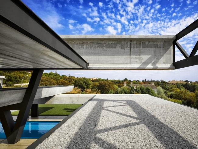 Дом Hemeroscopium в Мадриде © Ensamble Studio