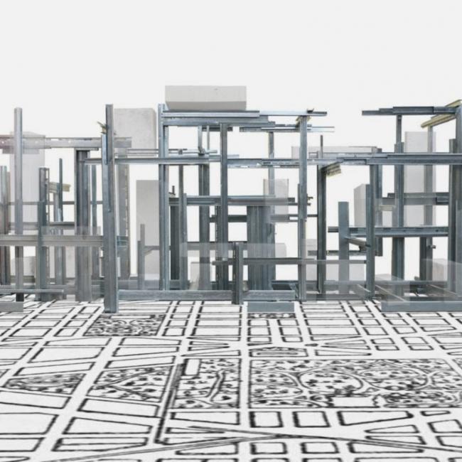 Трехмерные кварталы Supraextructures © Ensamble Studio