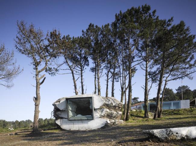 Дом The Truffle © Roland Halbe