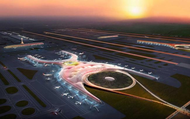 FR-EE и Foster + Partners. Новый международный аэропорт Мехико © Foster + Partners