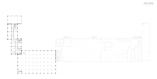 Конкурсный проект реконструкции кондитерско-булочного комбината «Простор». 5-е место © МАХПИ