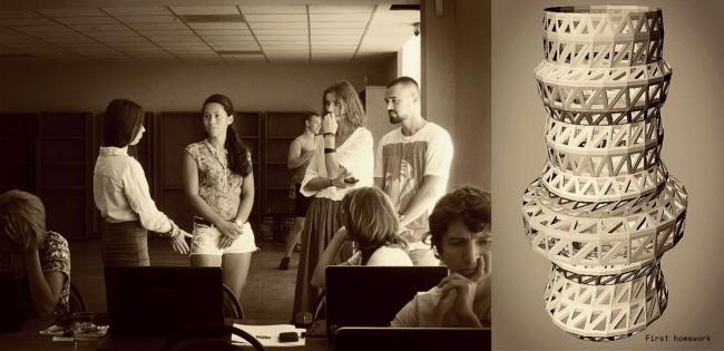 Cправа–работа студента SpotCamp Надежды Кутыревой