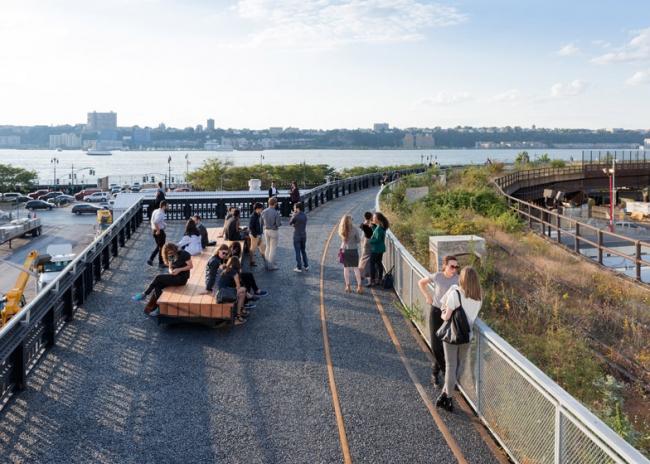 Парк Хай-Лайн. 3-я очередь строительства © Iwan Baan. Предоставлено Friends of the High Line