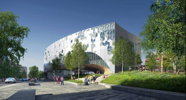 Дизайн библиотеки в Калгари. Проект Snøhetta