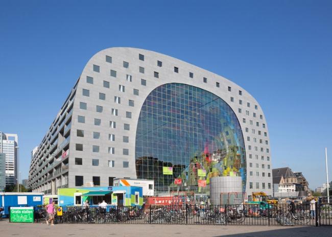 Крытый рынок Роттердама Markthal. Проект MVRDV