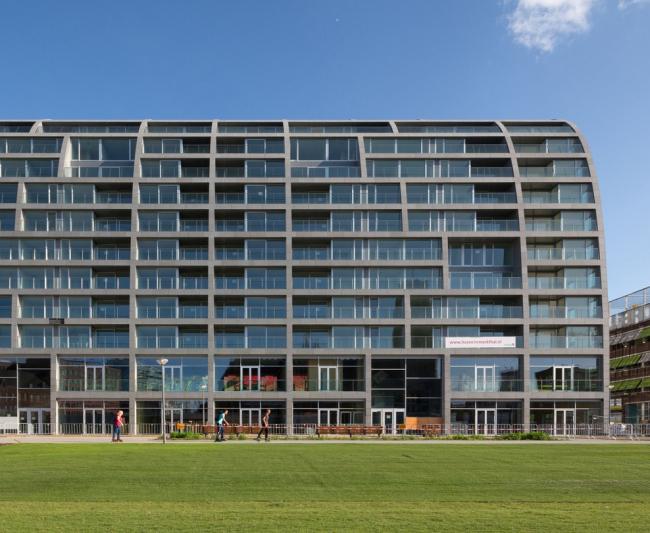 Квартиры в Роттердаме. Проект Markthal от MVRDV