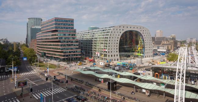 Крытый рынок в центре Роттердама от MVRDV
