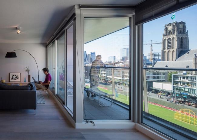 Интерьер квартиры в Роттердаме от MVRDV