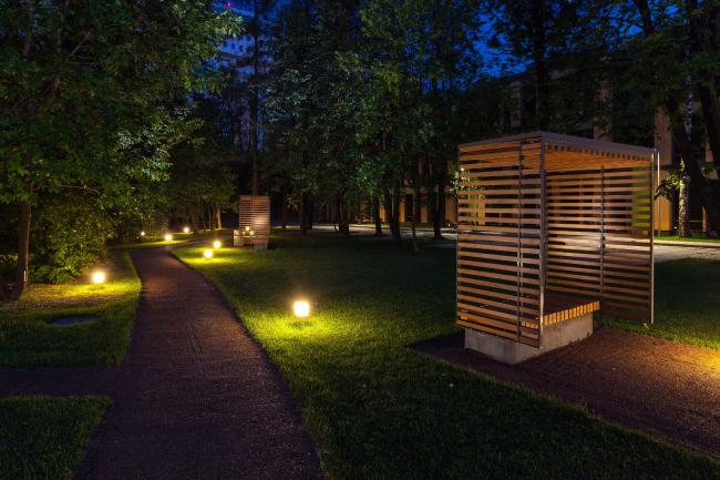 Бизнес-парк в Научном проезде. Фотография © Мастерская ADM / Анатолий Шостак