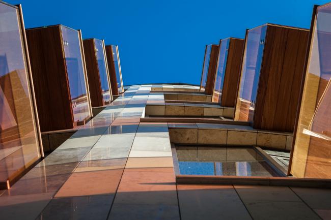 Отель Hilton Doubletree на Ленинградском шоссе. Фотография © Мастерская ADM / Анатолий Шостак
