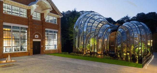 Новый завод Bombay Sapphire в Гемпшире