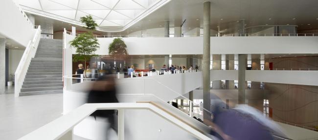 Кампус Университета Южной Дании. Проект Henning Larsen Architects
