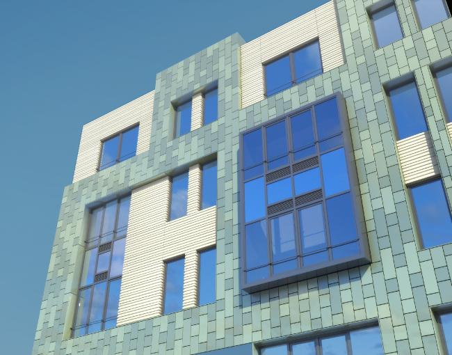 Проект многоквартирного жилого комплекса на проспекте Медиков © SPEECH + «Евгений Герасимов и партнеры»