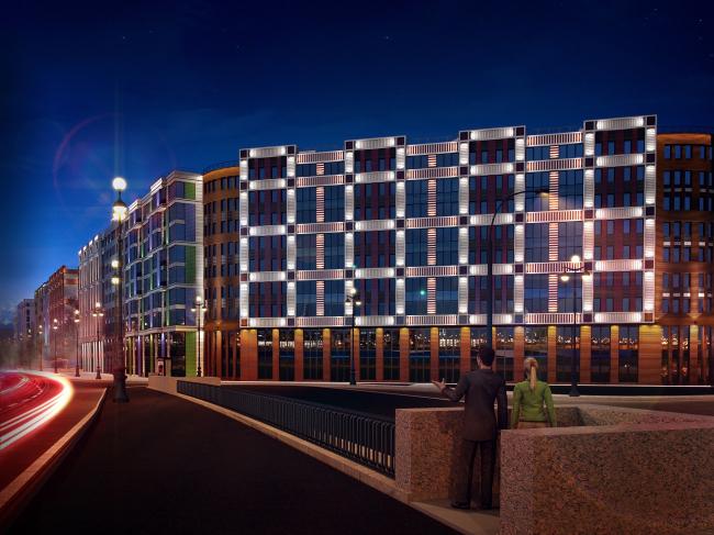 Проект многоквартирного жилого комплекса на проспекте Медиков © SPEECH + «Евгений Герасимов и партнеры». Предоставлено компанией Группа ЛСР