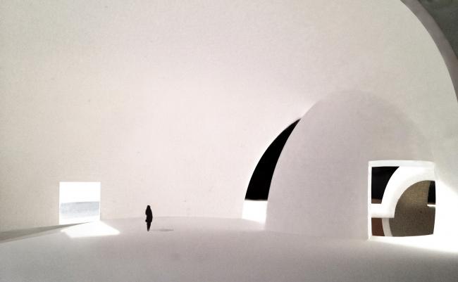 Некрополь в Тайване. Проект Steven Holl Architects