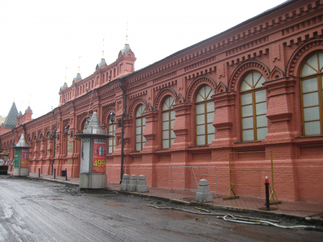Малый манеж (реконструкция), Москва