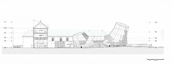 Здание FRAC региона Центр © Jakob+MacFarlane