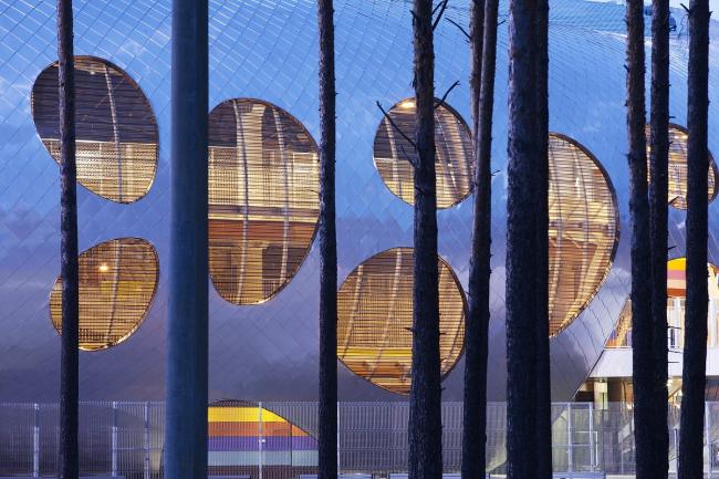 Стадион клуба БАТЭ в Борисове © Tomaz Gregoric
