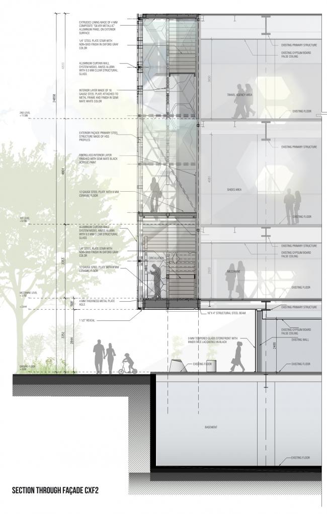 Универмаг Liverpool Insurgentes – реконструкция © Rojkind Arquitectos