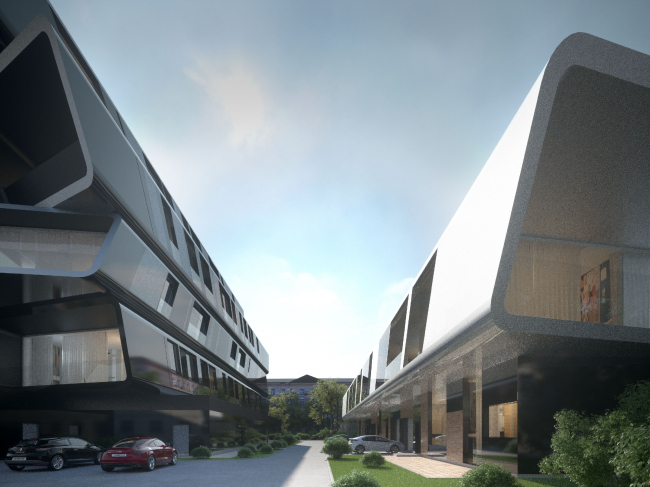 Реконструкция здания на Малой Ордынке под клубный комплекс апартаментов © Архитектурная мастерская Arch group