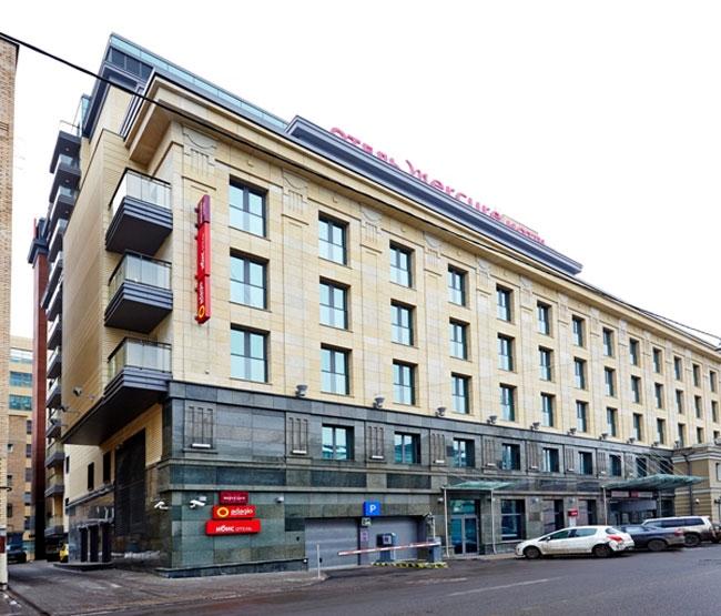 Гостиничный комплекс на улице Бахрушина. Фото с сайта u-kon.ru