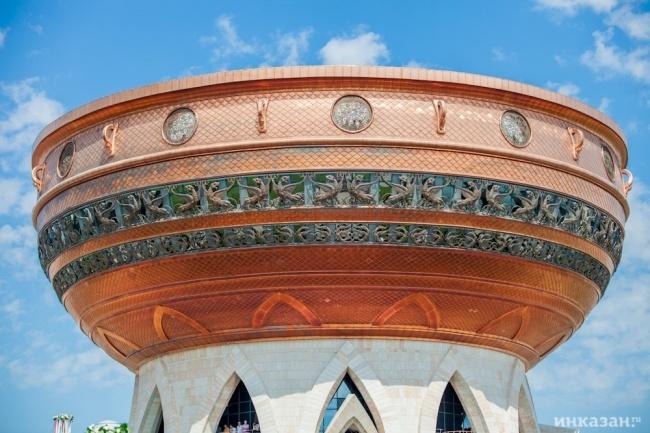 Дворец торжеств «Казан». Фотография предоставлена компанией ТАТПРОФ.