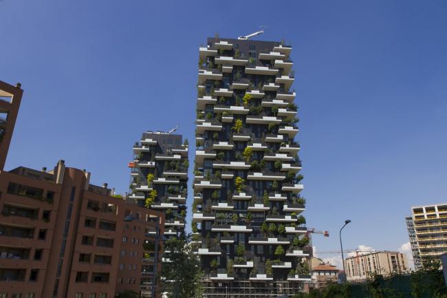 Самые красивые небоскребы года Bosco Verticale