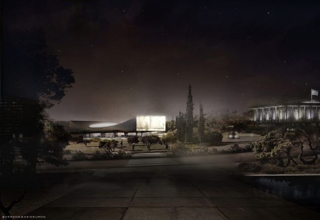 Фото | Национальная библиотека Изралия от Herzog & de Meuron