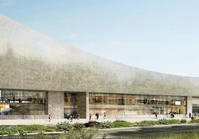 Национальная библиотека Изралия. Проект Herzog & de Meuron