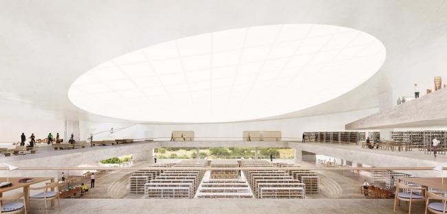 Дизайн Национальной библиотеки Изралия от Herzog & de Meuron