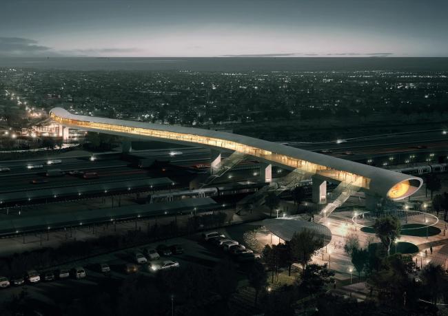 Новый транспортный терминал в Кёге от COBE