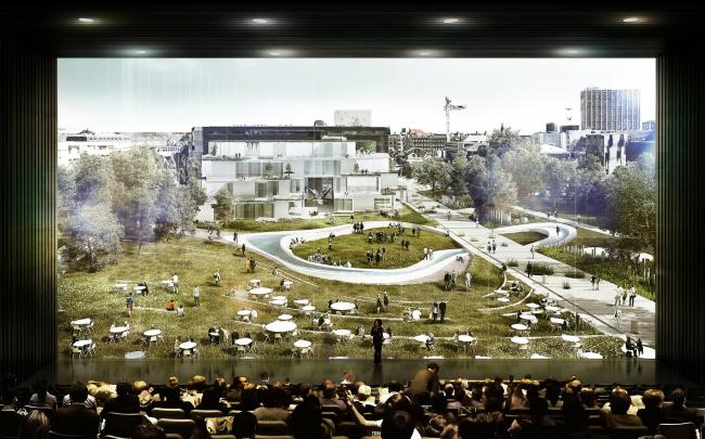 Копенгагенская школа бизнеса. Проект C.F. Møller