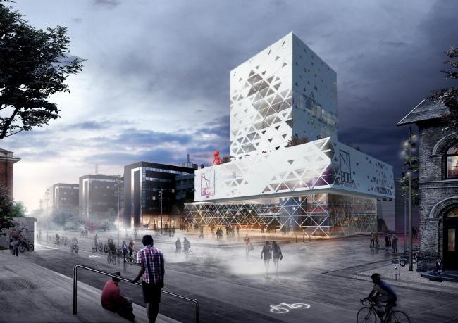 Школа бизнеса Копенгагена. Проект C.F. Møller