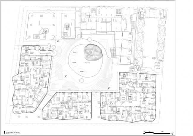 Виа Бонкомпаньи 71–реконструкция © MAD Architects