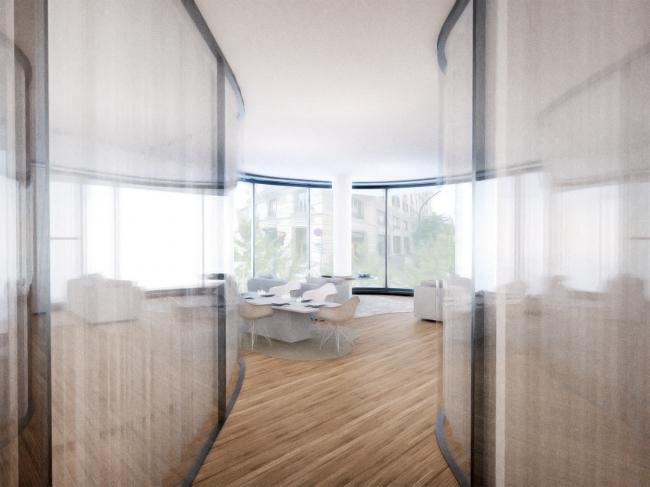 Виа Бонкомпаньи 71 – реконструкция © MAD Architects