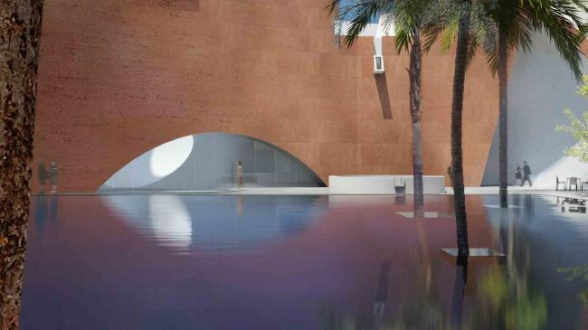 Музей города Мумбаи им. Бхау Даджи Лада–Северное крыло. Предоставлено Steven Holl Architects